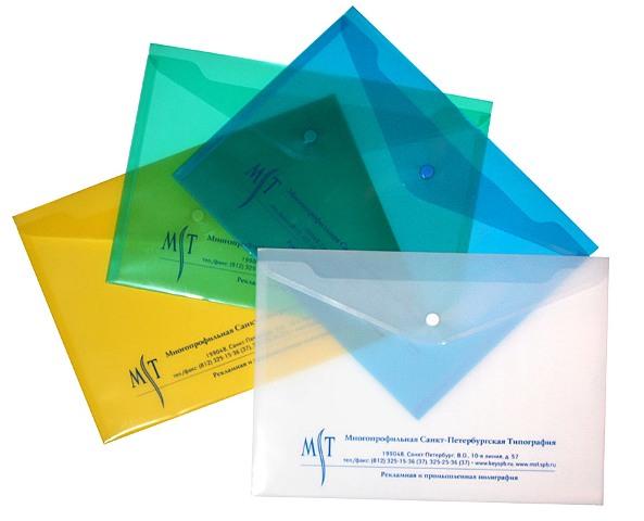 пластиковые папки с логотипом: